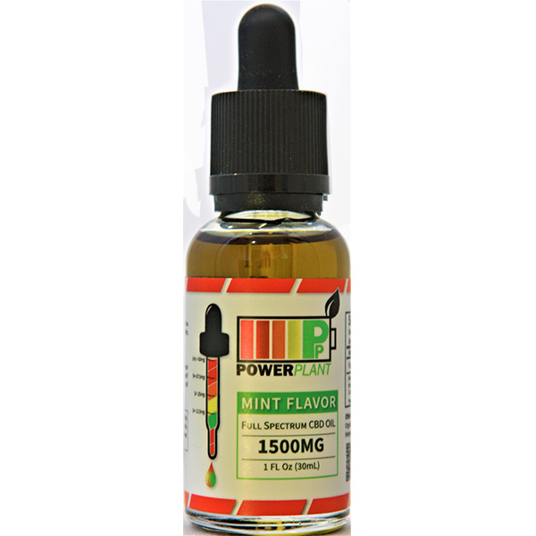 Full Spectrum 1500 mg Mint Flavor